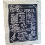 chocolatecookierecipechalkboard