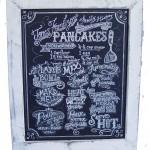 pancakerecipechalkboard